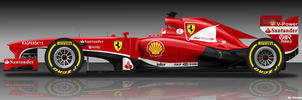 Ferrari F138 by pieczaro