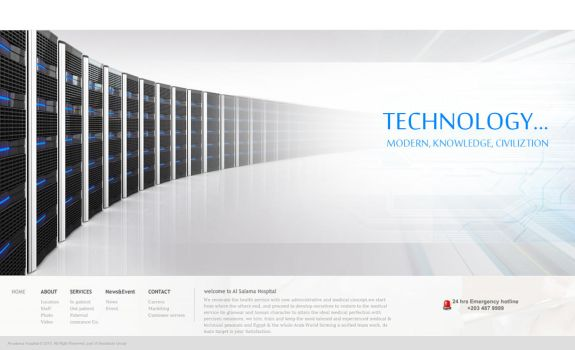 Andalusia Web site - Tech 2 by mohamed-amin