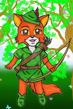 Chibi Commission: Robin Hood by Magical-Mama