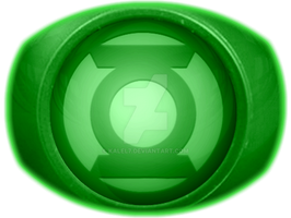 Green Lantern Ring by KalEl7