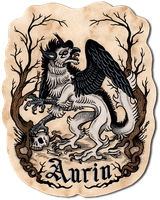 Aurin -medieval badge commission- by MacGreen