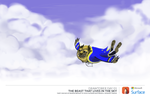 drawtober : the beast that lives in the sky by k-hots