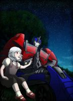 [Request] Optimus and Keishi by SolarGirlMina