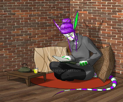 Quiet time by ithor