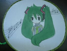 Vocaloid Miku fan SOLD OUT by jaysanzo