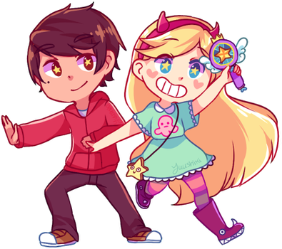 Star vs The forces of Evil by Yuushiki