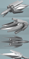 X207 Arrowhead Fighter by Jholliday