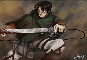 Lance Corporal Levi by Rismory