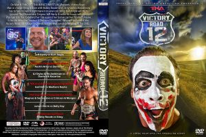TNA Victory Road 2012 DVD Cover by Chirantha