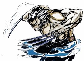 Wolverine Unleashes by Shinjigo