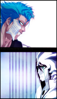 Ulquiorra vs Grimmjow by iNFERNo2446