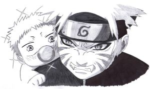 Beelzebub x Naruto by ItachiGrayDLuffy
