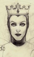 The Queen Sketch by Surnaturel