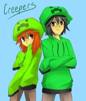 Creeper fan-art by Miurra