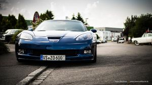 Blue Corvette C6 Z06 by AmericanMuscle