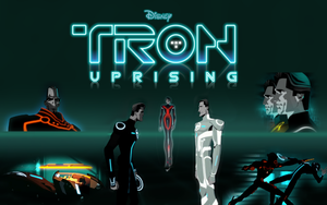 Tron: Uprising - Character Gallery Wallpaper by drakesteele