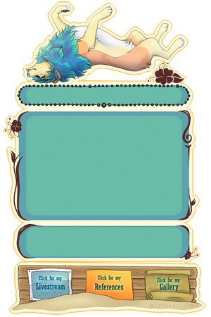 Deluxe Journal Skin Commission by Capukat