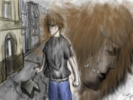 Anger an Sadness ends Numbness by todraw