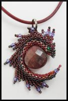 Purple pendant by Rrkra
