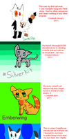 Timeline of my art from the beginning owo by Azura-Kat