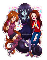 membri, marcy and me by Vika01