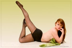May 1955 Playboy Remake by scarlettrenee