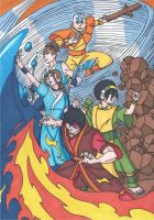 Avatar the Last Airbender by RobertMacQuarrie1