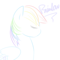 Rainbowdash by Aentha