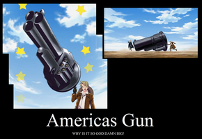 America's new Gun! by DarkVampirequeen9