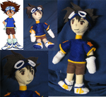Digimon 01:Tai by SeltsamPlush