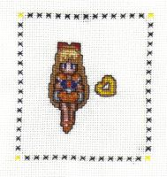 Sailor Venus Cross Stitch by JealaTriumph