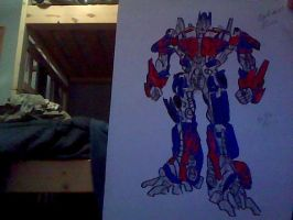 Optimus Prime by Jedi-Master-Autobot