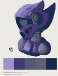 Limited palette: Mirah by robot-star693