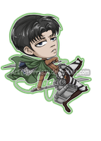 SnK: Rivaille by Vinnie14