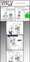 Minecraft Comic: CraftyGirls Pg 25 by TomBoy-Comics