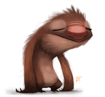 DAY 461. How I feel after getting home lol by Cryptid-Creations