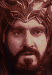 Thorin Oakenshield Cross Stitch Pattern Preview by shingorengeki