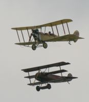 ww1 set foker BE2C by Sceptre63
