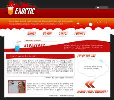 Excotic Drinks by tul