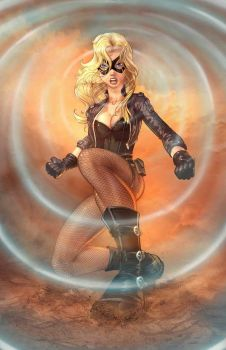 Black Canary by vest