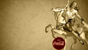 Vintage Coca Cola Wallpaper 3 by thhath