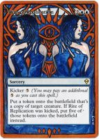 Magic Card Alteration: Rite of Replication 8-29 by Ondal-the-Fool