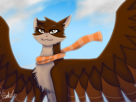 Wind in your Fur Gift by Haasiophis-Sahel
