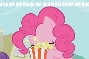 Pinkie loves dem popcorn by Celrahk