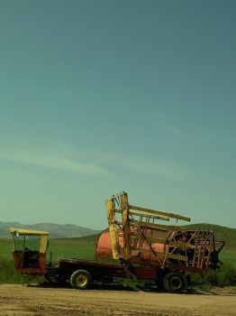 Tractor in peace by Firescorpio1