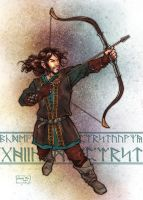 Kili's Arrow of Durin by studiomia
