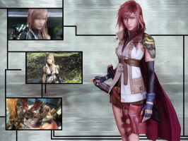 Lightning - Final Fantasy XIII by Rayalen
