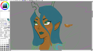 Warlord chrysalis preview by MermaidSoupButtons