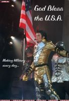 Mikey loves his golden country by MJRoxMyRhinestoneSox