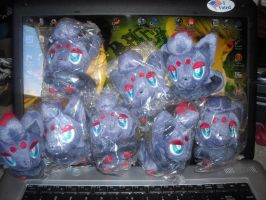 "Zorua 4"" Plush Sale 2 SOLD by KasaraWolf"